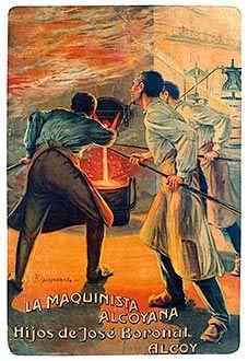 La Maquinista Alcoyana, 1920 (Anónimo)