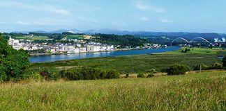 Vista general de Navia