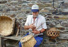 El cesteiro Ramiro Miranda (San Tirso de Abres)