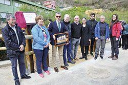 Inauguración Senda Fluvial de Riosa