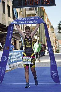 Beatriz Tenreiro, atleta