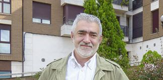 Oscar Flórez, tesorero de la Asociación de Fomento de la Sidra Tradicional Asturiana