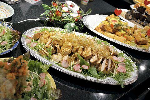 Platos elaborados en catering