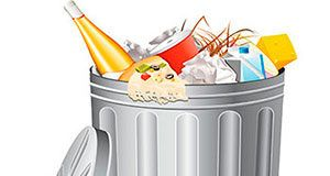 No al desperdicio de comida