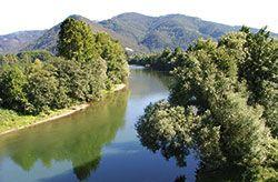 Río Nalón en Pravia