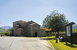 Iglesia de San Juan Evangelista, en Santianes