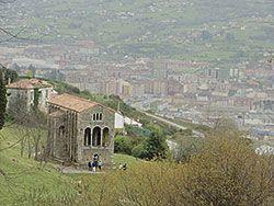 Vista parcial de Oviedo