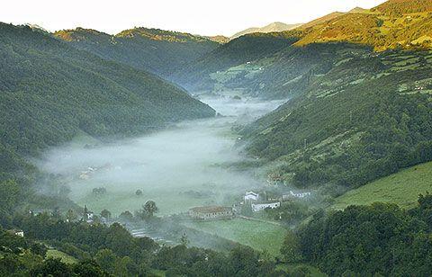 Valle del río Cubia
