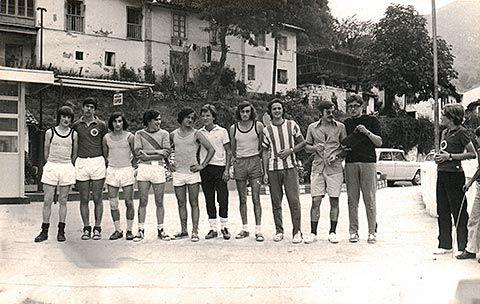 Carrera popular de Belmonte en los años 70.