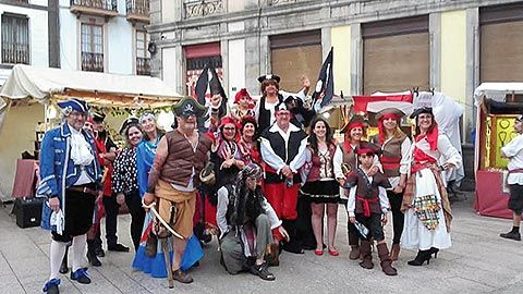 Fin de semana pirata, en Luarca