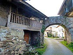 Brieves, pueblo del concejo de Valdés