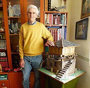Joaquín García, artesano de la madera
