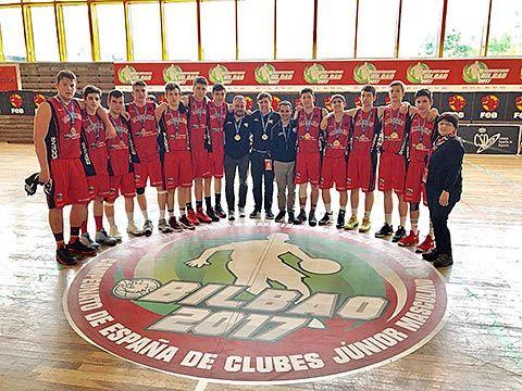 Equipo Junior Masculino del BVM 2012 Basket Villa de Mieres