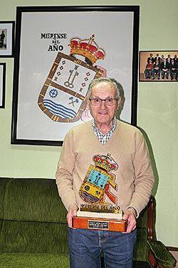 Enrique Espina. Mierense del Año