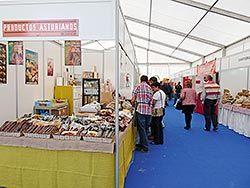 Imagen de archivo de la Feria de Muestras de Vegadeo