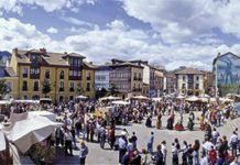 Festival de la Sidra en la Plaza del Ayuntamiento