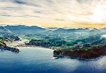 Panorámica del litoral riosellano