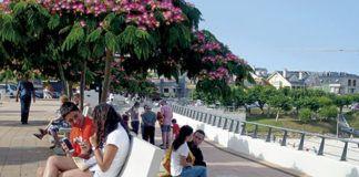 Paseo Rapadoira. Foz (Lugo)