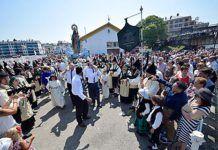 Procesión de la Virgen de la Barca en Navia