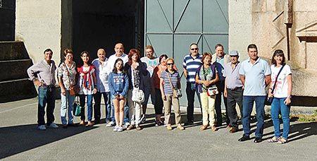 Excursión de la Asociación Amigos del Concellín al embalse de Salime
