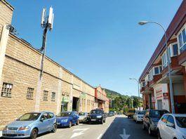 Polígono industrial de Ferreros (Oviedo)