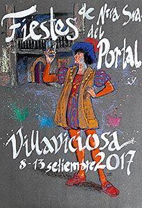 Cartel de las Fiestas del Portal 2017