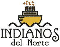 Logo Indianos del Norte. Boal