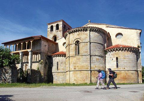 Monasterio de San Salvador. Cornellana