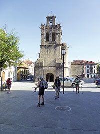 Colegiata de Santa María La Mayor. Salas