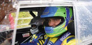Oscar Palacio. Piloto de rallyes