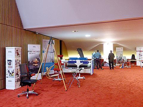 Congreso de Ergonomía en el Niemeyer