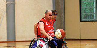 Aladino Pandiella, deportista adaptado
