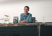 Darío Rodríguez, autor de Prueba con una sonrisa