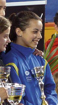 Celia Álvarez. Karateca