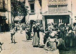 Foto antigua del Mercado de Grado
