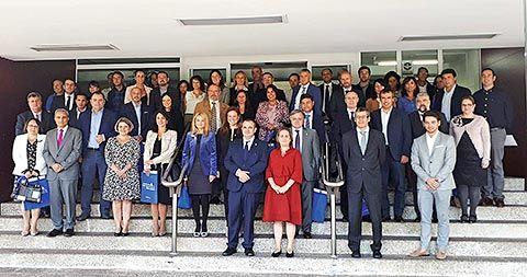 Primera entrega del Sello a veintitrés empresas asturianas, el pasado día 29 de septiembre