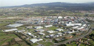 Vista aérea del Parque Tecnológico de Llanera