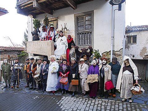 Imagen de los Guilandeiros en Tineo