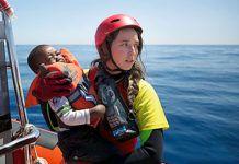 Anabel Montes. Rescate en julio de 2017 al norte de Sabratah, Libia