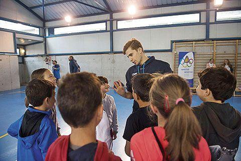Actividad del programa 'Anótate la Prevención' en el CP Gesta I-II, Oviedo