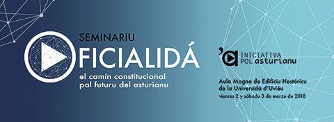 Cartel Seminario Iniciaciva pol Asturianu