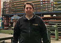 Jorge Tejón. Empresario en el Polígono Las Peñas