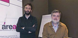 Ignacio González (izda.) y Pablo García-Vigón (dcha.)