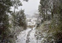 Senda Pico Cueto que une con Ruta de Los Marineros