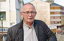 Luis García Iglesias. Presidente de la Asociación de Empresarios del Polígono Río Pinto (Coaña)