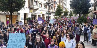 8M. Manifestación en Oviedo