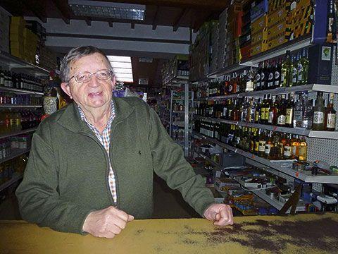 Manuel Fernández en Casa Fonso