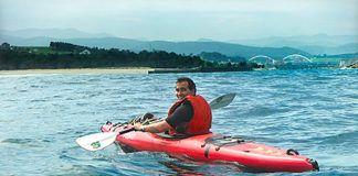 J. Carlos Menéndez 'Kaly'. Pionero en turismo activo