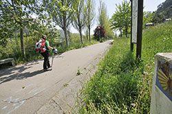 Camino de Santiago a su paso por Mieres