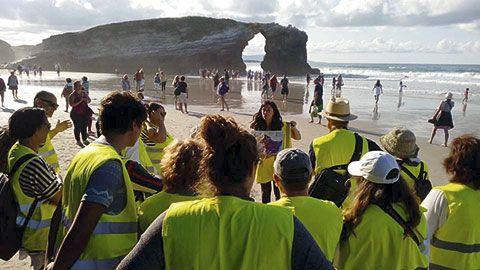 Visita guiada en la Playa de As Catedrais
